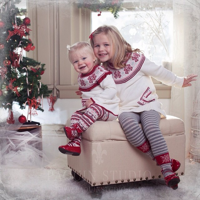 Two holiday cuties