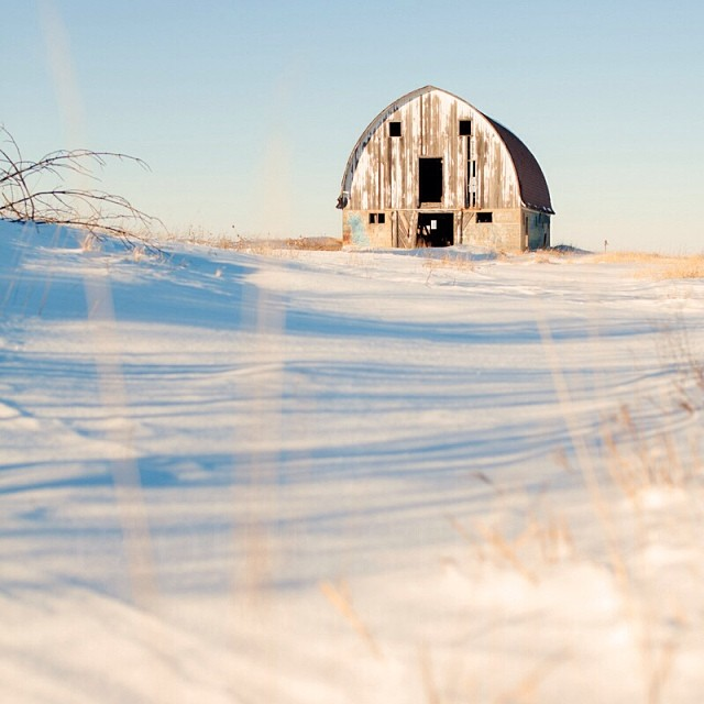 On The Prairie. When there's blizzards and travel warnings, I get a little claustrophobic. So when the sky is clear and the suns out, I love to get out in my jeep with a cappuccino. I'd have liked to have gotten closer to the barn but I was already up to my knees in snow. #ps_boutique #barns #minnesota