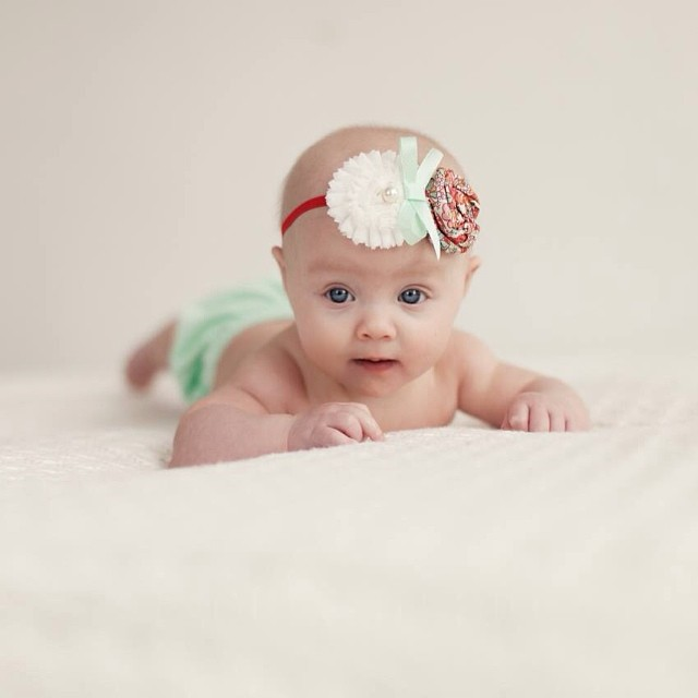 Blue-eyed Girl. The sweetest little baby girl in the studio this week. #windowlight #paquinstudio #owatonna #Minnesota #babyphotography