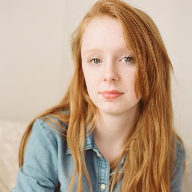 Ma Belle. #film #filmisnotdead #wannabeElizabethMessina #portra160 #mamiya645 #80mmf1/9 #redhead #ginger #paquinstudio