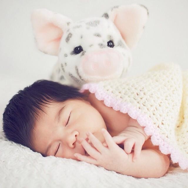 Someone to watch over me! #newborn #windowlight #babyphotography #paquinstudio