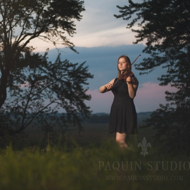 The Violinist #senior pictures #owatonna #paquinstudio #Minnesota