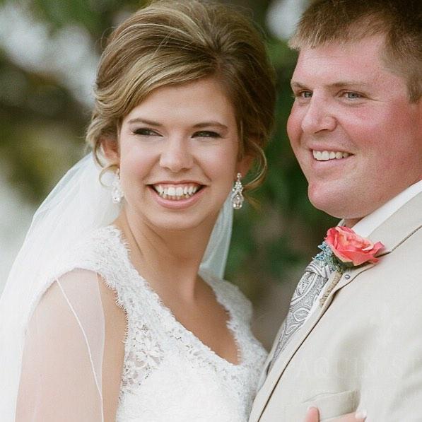 Mrs Sarah - a stunning July bride.