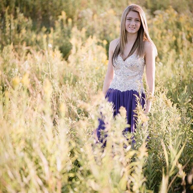 Sheridan & wildflowers