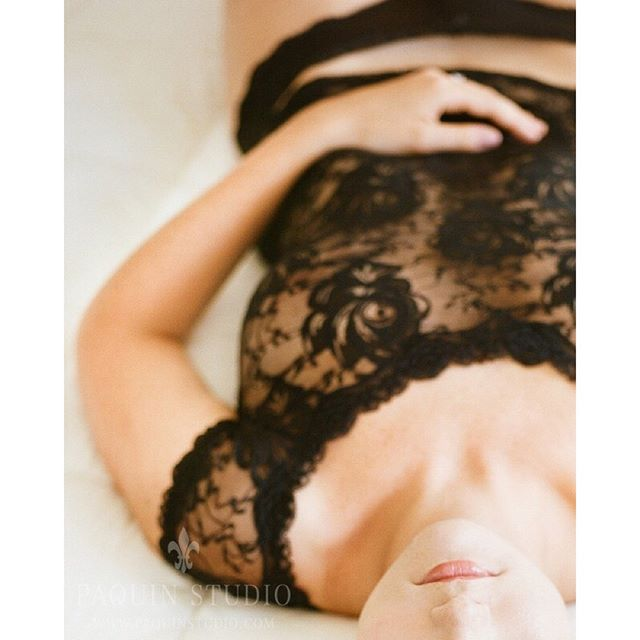 Boudoir shot on film