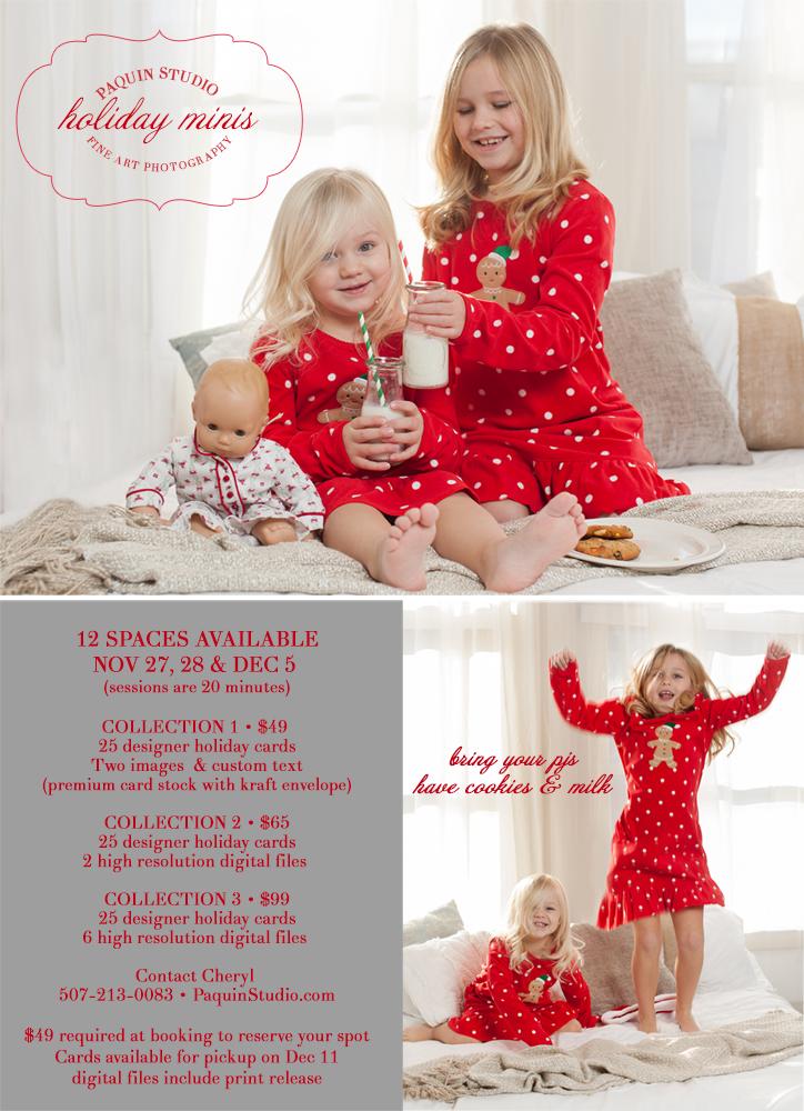 Paquin Studio Holiday Minis