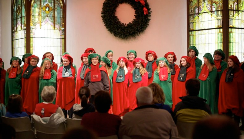 OHS Carolers at the Arts Center