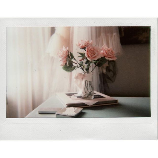 Down at the studio on - boudoir shoots are happening. Love Fuji instax tones.