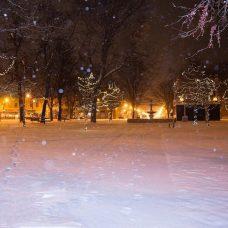 Let it snow …