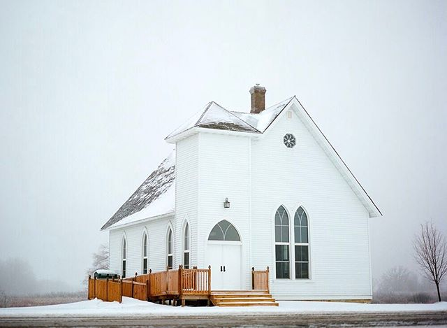 Rice Lake Church - I love this little country church, and have shot two sweet weddings in it. #